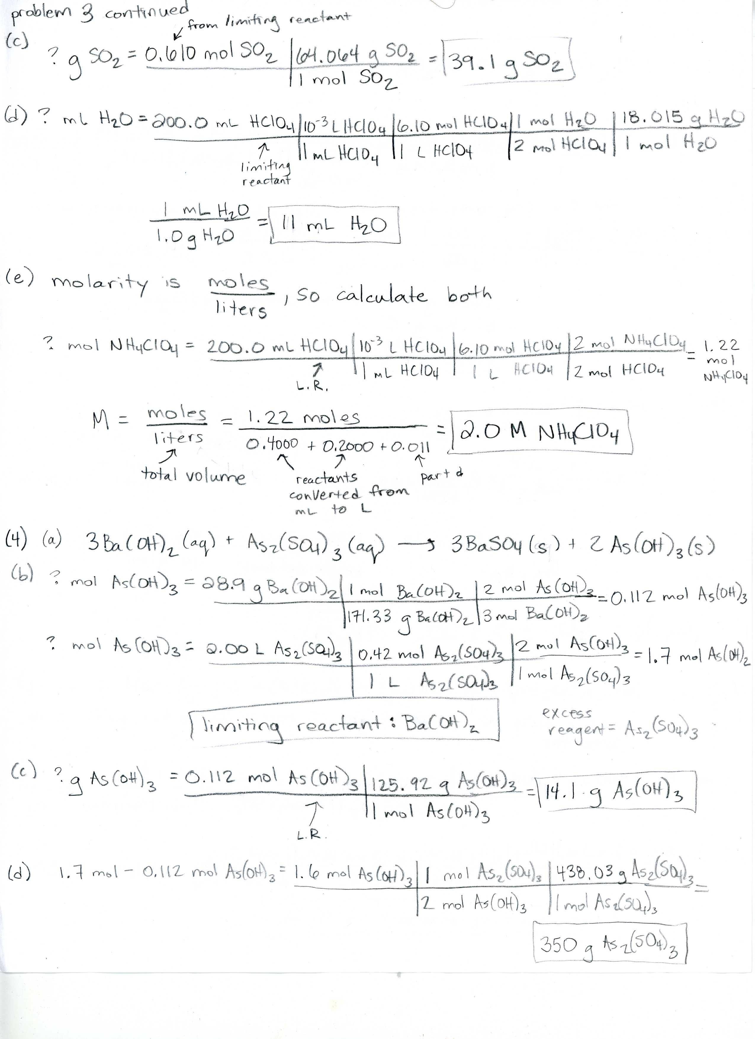 matter homework packet answers